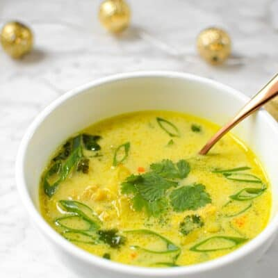 Quick & Easy Chicken Curry Soup (Paleo, AIP, Gluten-Free)