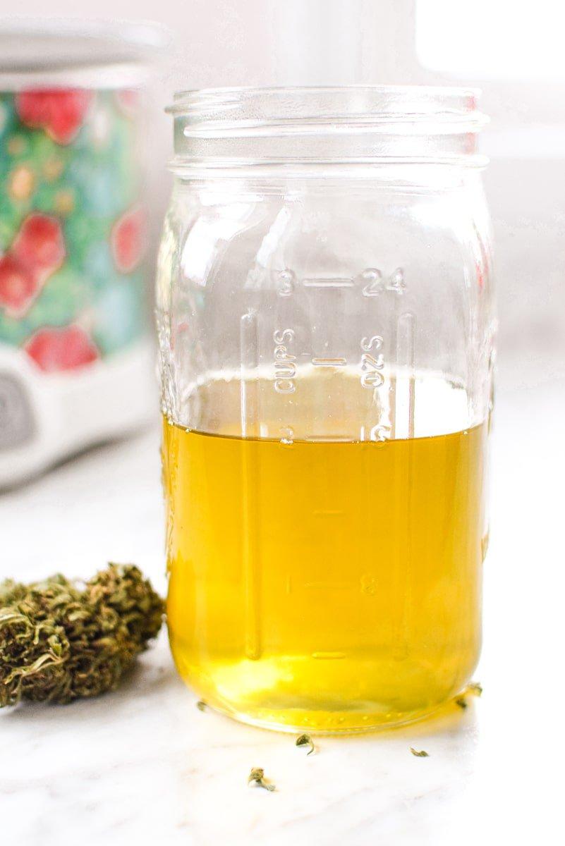 Cannabis Coconut Oil by Emily Kyle Nutrition