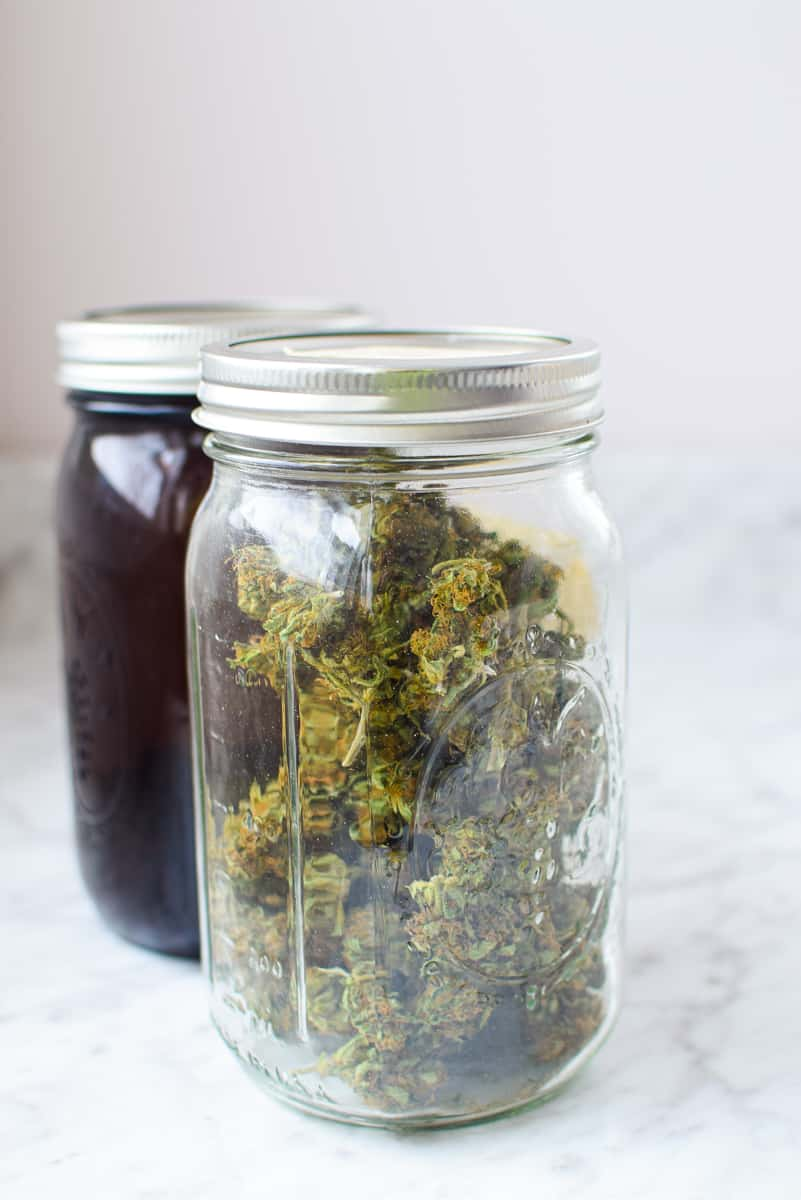 Mason Jar Decarb