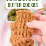 Healthy Cannabis Peanut Butter Cookies