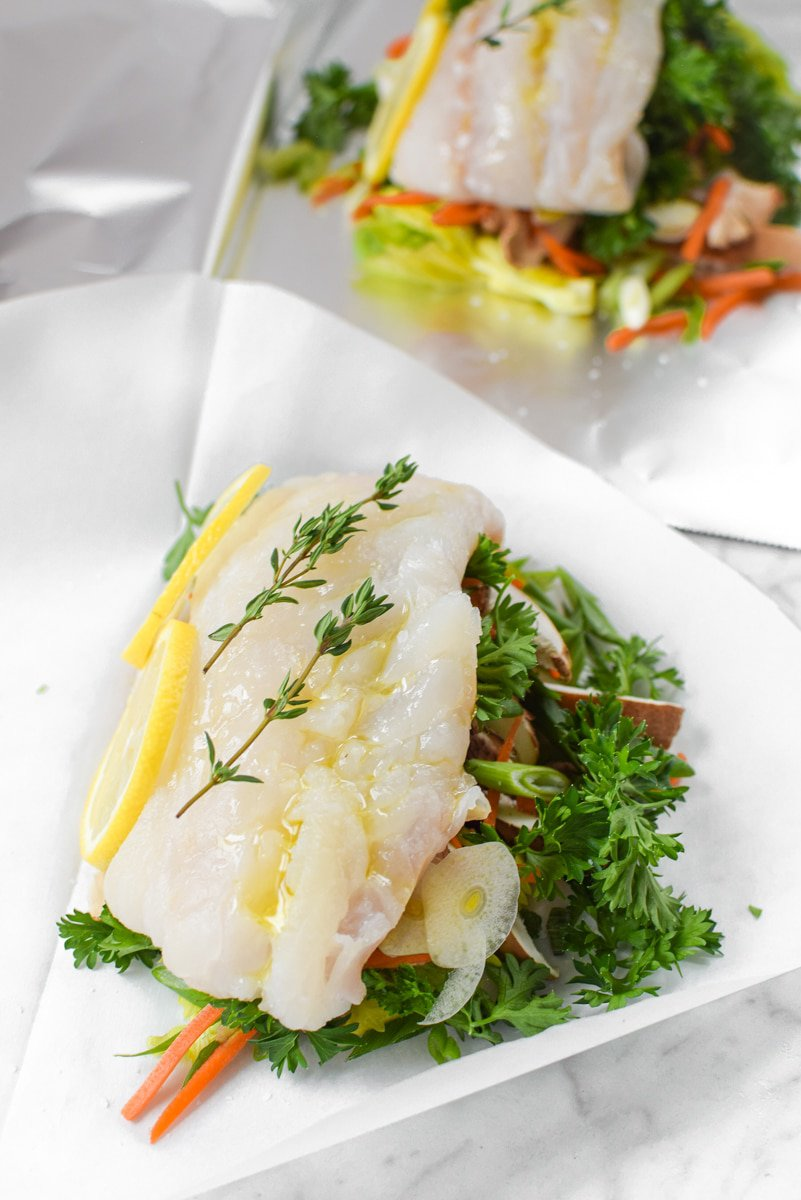 Fish en Papillote by Emily Kyle Nutrition