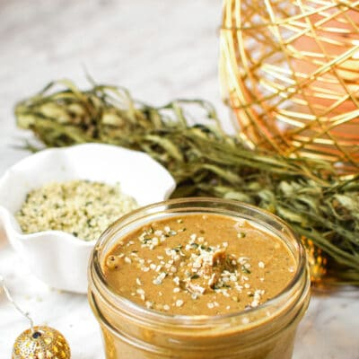 Hemp Seed Butter (Vegan, Paleo, Nut-Free)