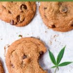 Cannabis Chocolate Chip Cookies Emily Kyle Nutrition