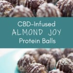 No-Bake CBD Almond Joy Energy Bites