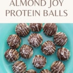 CBD Almond Joy Energy Bites