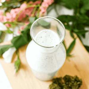 Homemade Cannabis Ranch Dressing