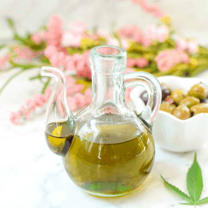 Cannabis Infused Olive Oil Featured