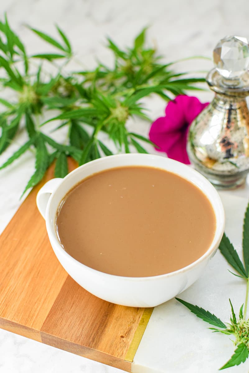 Cannabis Coffee in Mug