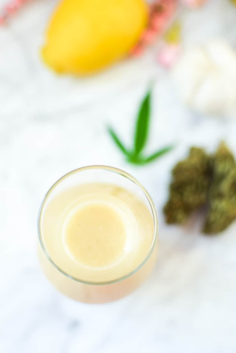 Zesty Cannabis-Infused Lemon Vinaigrette