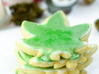 Cannabis Cut-Out Sugar Cookies