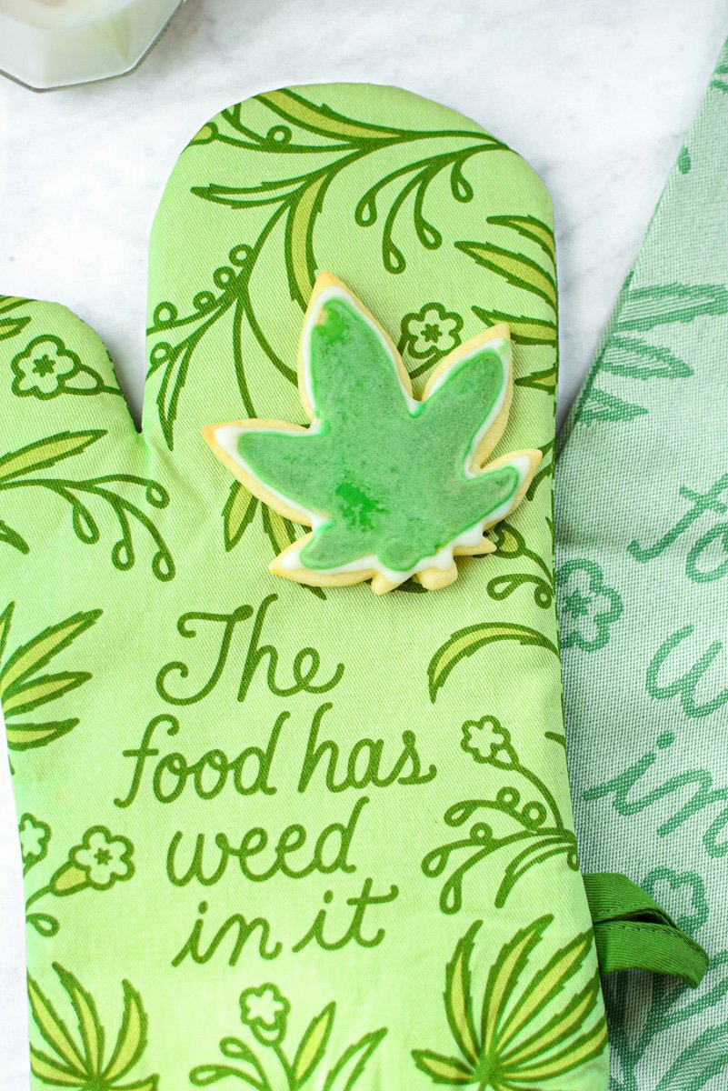 Cannabis Cut-Out Sugar Cookies