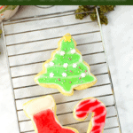Cannabis Cut Out Sugar Cookies with Cannabis Icing