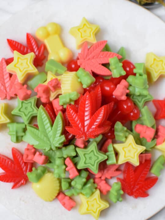 Cannabis Gummies Made With Oil or Butter