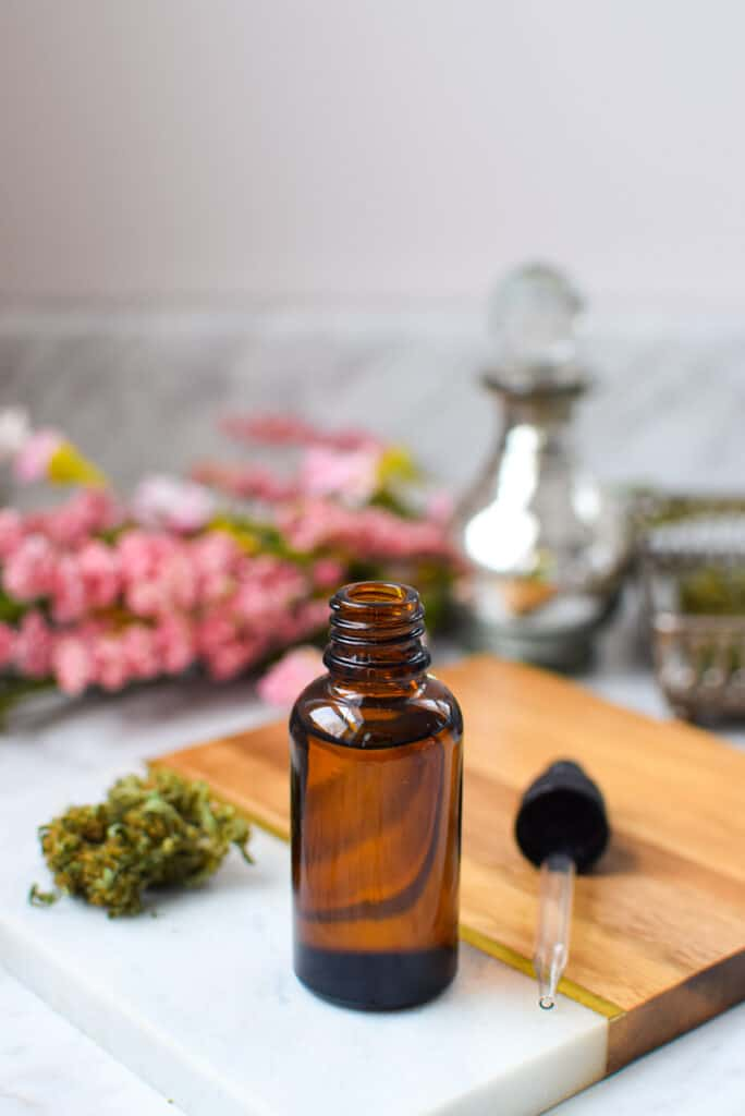 Cannabis-Infused MCT Oil