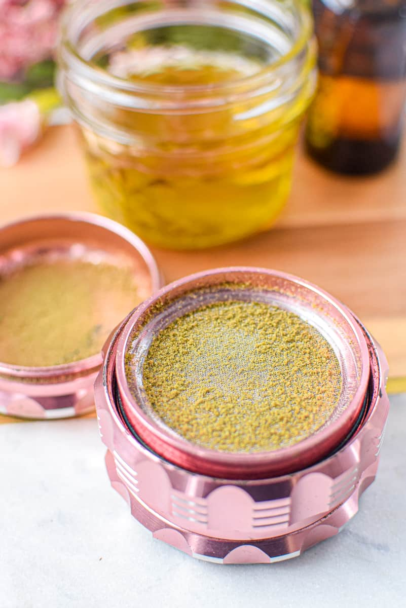 How to Make Edibles with Kief