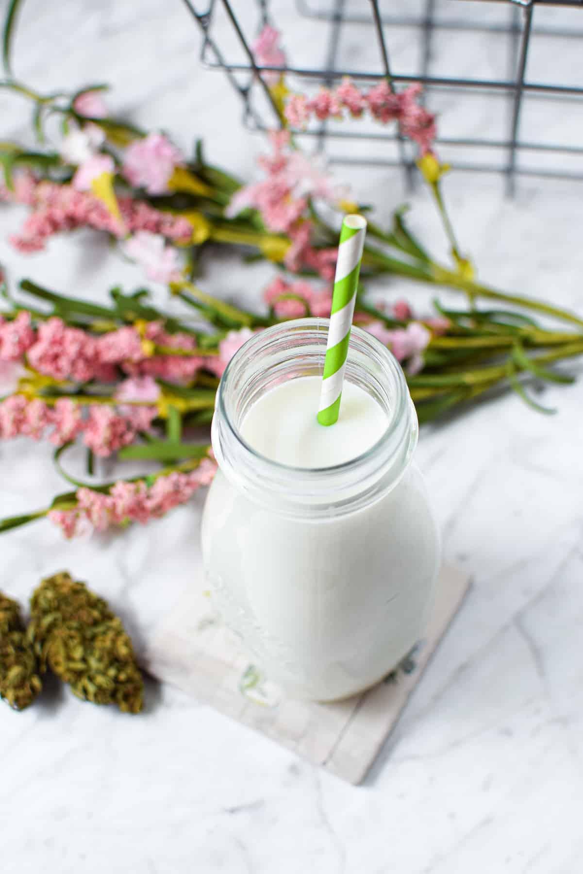 How to Make Cannabis Milk or Cream