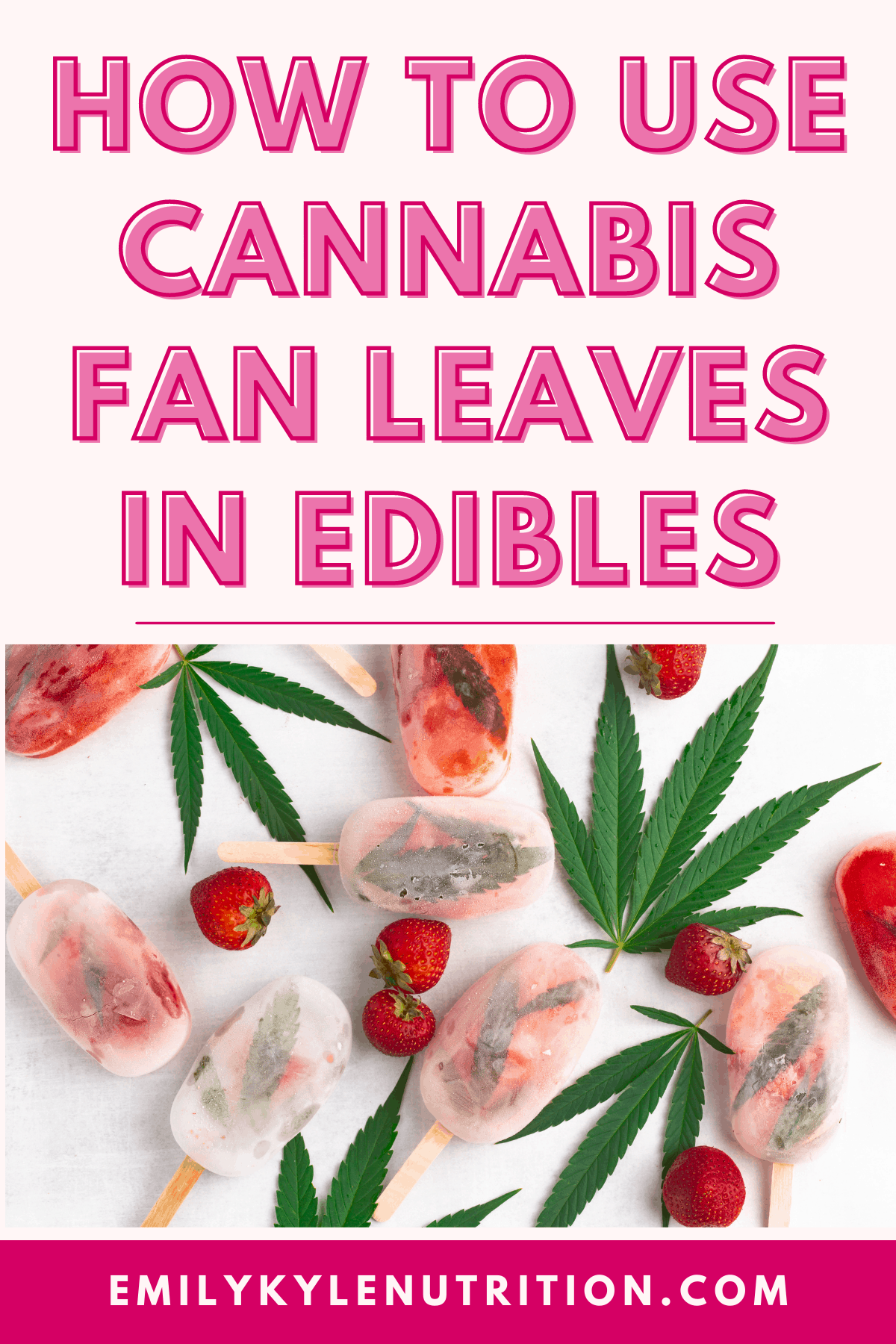 How to Use Cannabis Fan Leaves in Edibles