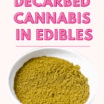 How to Use Decarbed Cannabis in Edibles Pin