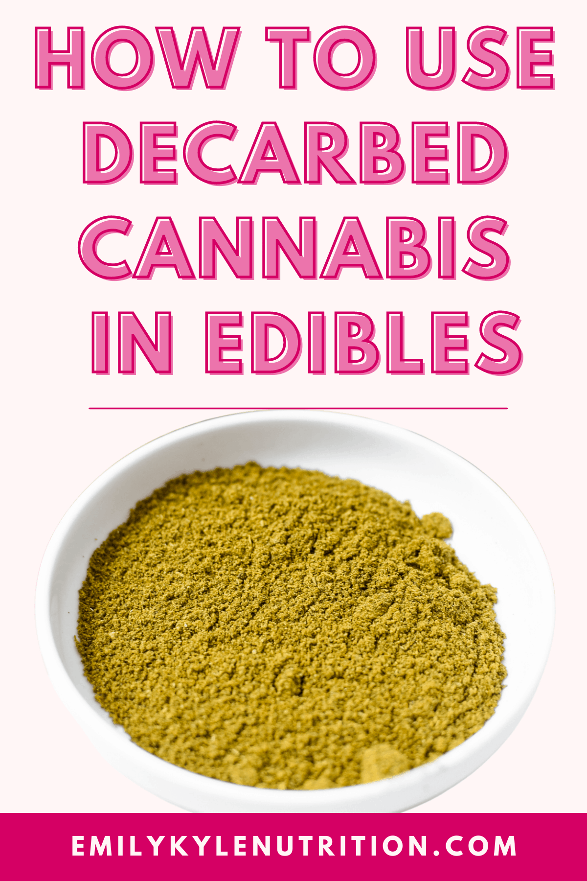 How to Use Decarbed Cannabis in Edibles-5